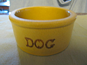 Ransbottom Dog Bowl Stoneware (Image1)