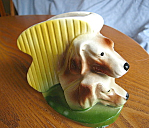 American Bisque Dog Planter