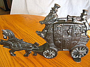 Antique Stagecoach Doorstop (Image1)