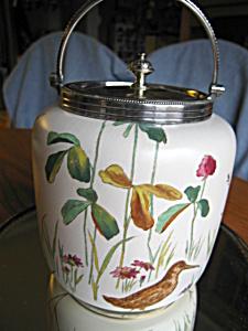 Antique Doulton Biscuit Jar (Image1)