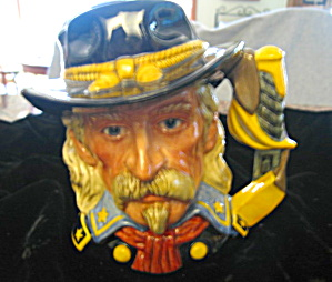Signed Royal Doulton General Custer Toby