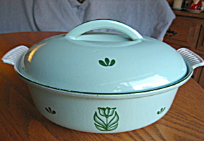 Vintage Holland Enameled Cast Iron Pan (Image1)