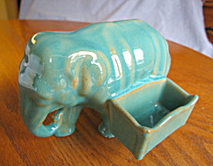Cliftwood Art Pottery Elephant Rare