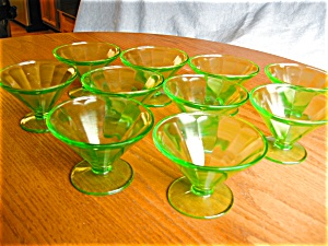 Federal Depression Glass Sherberts