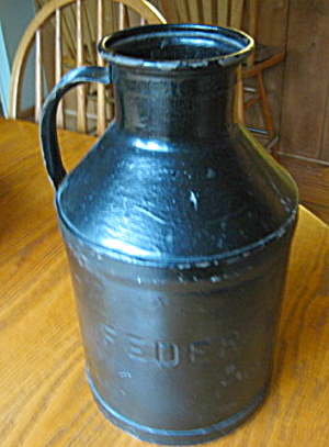 Federal Dairy Co. Milk Container