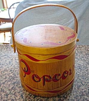 Vintage Popcorn Firkin (Image1)