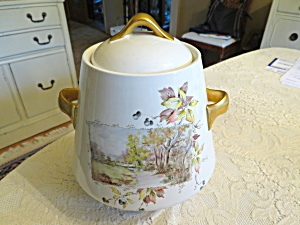 Flare-ware Vintage Cookie Jar