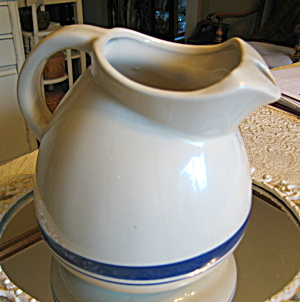 Friendship Pottery Ball Water Pitcher (Image1)