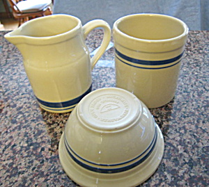 Friendship Pottery Stoneware Group