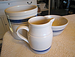 Friendship Pottery Blue Stripe Assortment (Image1)
