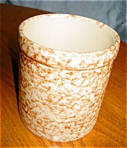 Friendship Pottery Spongeware Crock (Image1)