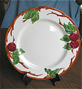 Two Franciscan Bread Plates