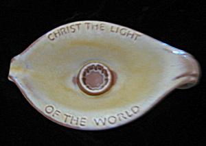 Frankoma Candle Holder (Image1)