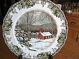 Vintage Johnson Bros. Dinner Plates  (Image1)