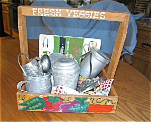 Eleven Vintage Kitchen Collectibles