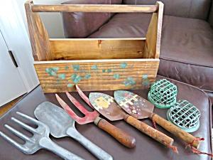 Garden Tools & Basket (Image1)