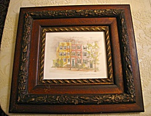 Antique Frame And Georgetown Print