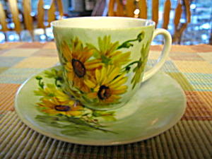 Bavarian Child's Daisy Teacup