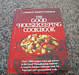 First Edition Good Housekeeping Cookbook