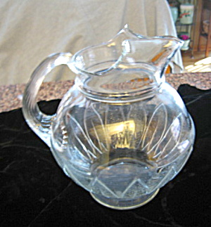 Antique Glass Pitcher (Image1)