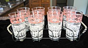 Vintage Glassware Set Retro (Image1)