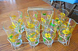Retro Glass Carrier & Glasses (Image1)