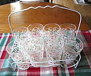 Vintage Glass Carrier & Glasses (Image1)