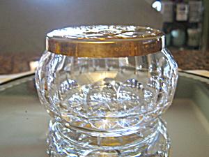 Gorham Silverplate Crystal Vanity Box (Image1)