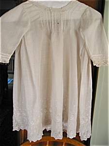 Vintage Christening Gown And Slip