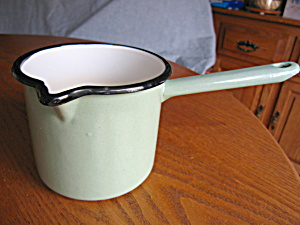 Antique Graniteware Pan