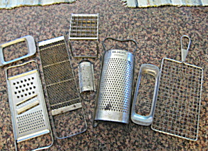 Vintage Kitchen Grater Assortment (Image1)