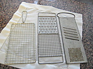 Vintage Kitchen Graters (Image1)