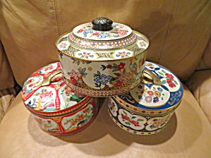 Gray Dunn Biscuit Tins