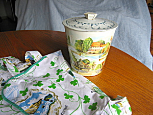 Vintage English Tin And Irish Apron