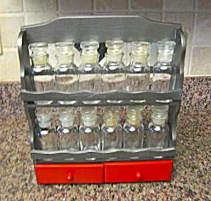 Painted Vintage Spice Rack (Image1)