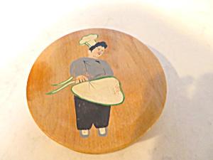 Wooden Vintage Hamburger Press (Image1)