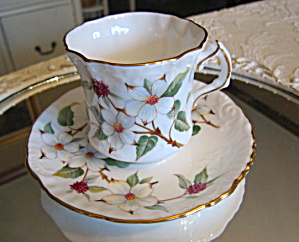 Hammersley Dogwood Blossom Vintage Teacup