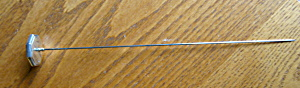 Antique Sterling Silver Hatpin