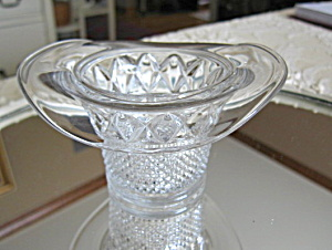 Antique Glass Hat Vase Toothpick (Image1)