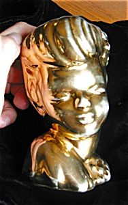 American Bisque Head Vase (Image1)