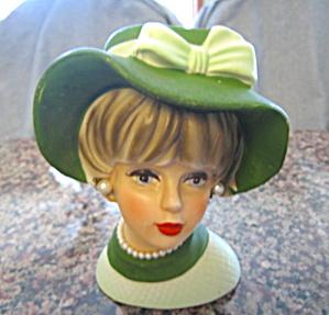 Vintage Napcoware Lady Headvase (Image1)