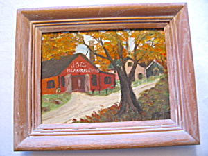 Listed Artist Oil Painting - H. F. Kneff