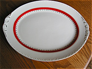 Homer Laughlin Platter Large Vintage (Image1)