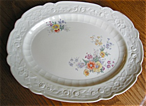 Vintage Homer Laughlin China Platter (Image1)