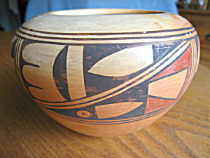 Signed Hopi Pottery Vase