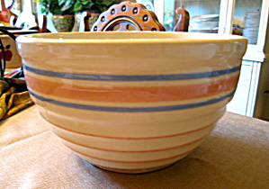 Hull Pottery Mixing Bowl Vintage
