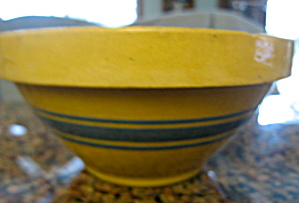 Antique Hull Yellow Ware Bowl