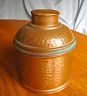 Revere Hammered Copper Humidor Vintage