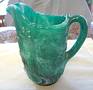 Vintage Imperial Slag Glass Pitcher