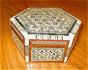 Vintage Inlay Box